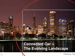 This Webinar explored how the connected car landscape is evolving based on new entrants, business models, and OEM investments across new enabling technologies.